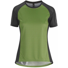 assos Trail Maillot manches courtes Femme, pan green